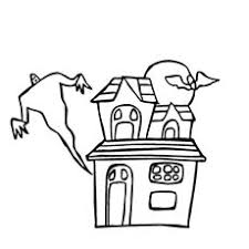 Ghost Andhaunted House Halloween