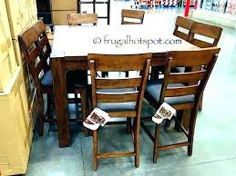 Dining Table Sets Costco Room 9 Counter Height Set Ca Furniture More Images Of Dinning Patio