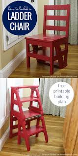 100 Printable Images Of Wooden Folding Chairs Remodelaholic DIY Ladder Chair A Modern Twist On An American Classic