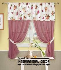 Kitchen Drapery Ideas Largest Catalog Of Kitchen Curtains Designs Ideas 2016