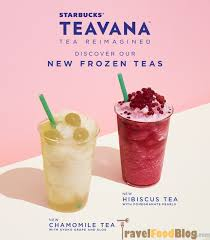 Drawing Our Inspiration From A Love Of Tea In Asia And Popular New Flavors This Year Starbucks Takes Innovation