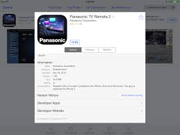 I Want To Connect My iPad To Panasonic Smart TV How