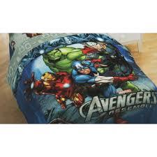 Superhero Bedding Twin by Marvel Avengers Twin Full Comforter Iron Man Hulk Thor Superhero