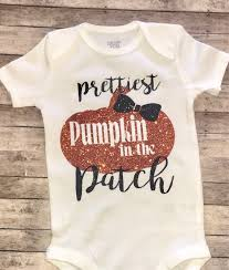 Pumpkin Patch Caledonia Il For Sale by Prettiest Pumpkin In The Patch Shirt Onesie