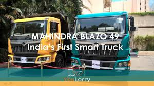 India's First Smart #Truck:Auto Expo 2018 Mahindra Launched Its #HCV ... Mm Sees First Month Of Growth In June After A Year Decline Everything You Need To Know About Whats Smart Mahindra Blazo All You Need Know About Smart Trucks Technofall Trucksdekho New Trucks Prices 2018 Buy India Blazo Series And Loadking Optimo Tipper At 2016 Auto Expo Top Commercial Vehicle Industry Truck Bus Division Navistar 25 Tonne Caught Testing Most Probably Mn25 Eicher Launches 145 Ton Truck The 1114 Teambhp Mn40 Indian Smg Is The New Dealer For Buses Business Demerge Into Ltd To Operate As