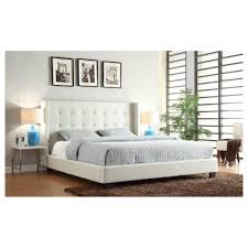 Target Roma Tufted Wingback Bed by Tufted Queen Bed Frame Med Art Home Design Posters
