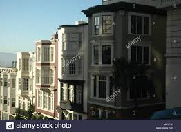 100 Row Houses Architecture Houses Built Into The Hillside Are Typical Of San