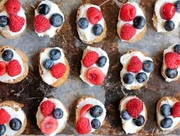 berry canapes summer berry crostini with lemon ricotta honey ambitious kitchen