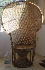 Chair Design Ideas Vintage Wicker Chairs Rattan Peacock Patio Victorian Shabby Chic Beach