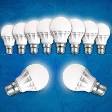 set of 10 led light bulbs from felix general home electronics