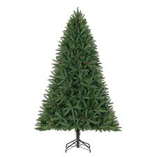 9 Ft Artificial Unlit Christmas Tree by Shop Holiday Living 7 5 Ft Fleetwood Pine Artificial Christmas