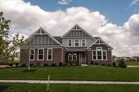 Fischer Homes Yosemite Floor Plan by Fischer Homes Muirfield Model Nantucket Retreat Exterior