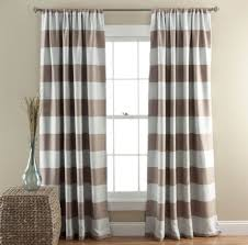 navy blue and white striped curtains tags horizontal striped
