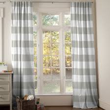 gray horizontal striped curtains all about home design the