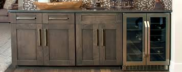 in vogue with grey custom cabinets