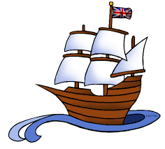 Small Wooden Sail Boat Clipart