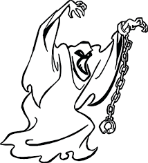 Scooby Doo Christmas Coloring Pages Ghost Page Animals Free Printable Sumptuous Design 17 On