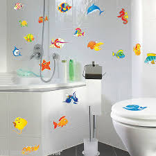 bad meerestiere aufkleber delphin dusch fenster