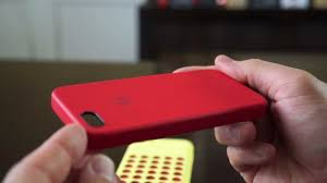 Apple iPhone 5s Leather Case Product Red Review