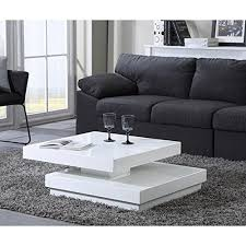 links 50100135 xoxo table basse blanc laqué 120 x 60 x 40 cm