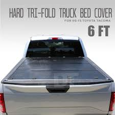 2005 2015 Ta A Lock Hard Solid Tri Fold Tonneau Cover 6ft 72