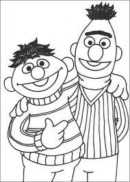 Good Bert And Ernie Coloring Sheet For Your Kids New Our Collection Free Pages Which I Think Is Better Please Enjoy