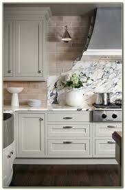 light grey subway tile backsplash kitchen tiles home