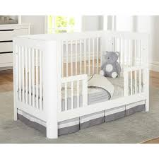 Cribs That Convert To Toddler Beds by Sorelle Chandler Crib Toddler Rail In White