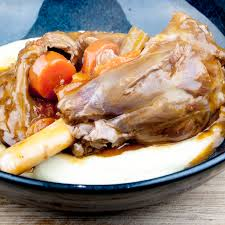 Slow Cooked Lamb Shanks In Red Wine Uk Harambeeco
