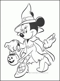 Coolest Coloring Disney Printable Pages Halloween On Color With Free