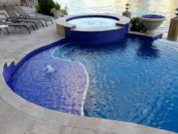 new tile and coping neave pools