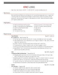 bar resume exles resume bar manager job description sle