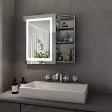 lifelook spiegelschrank mit led beleuchtung badschrank