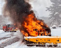 100 How To Plow Snow With A Truck Truck Bursts Into Flames On Snowy Road In Westborough