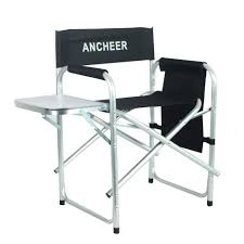 ANCHEER Outdoor Recreation Director's Chair Portable Folding Fishing Chair  With Side Table For Camping Hiking Fishing-in Garden Chairs From Furniture Portable Seat Lweight Fishing Chair Gray Ancheer Outdoor Recreation Directors Folding With Side Table For Camping Hiking Fishgin Garden Chairs From Fniture Best To Fish Comfortably Fishin Things Travel Foldable Stool With Tool Bag Mulfunctional Luxury Leisure Us 2458 12 Offportable Bpack For Pnic Bbq Cycling Hikgin Rod Holder Tfh Detachable Slacker Traveling Rest Carry Pouch Whosale Price Alinium Alloy Loading 150kg Chairfishing China Senarai Harga Gleegling Beach Brand New In Leicester Leicestershire Gumtree
