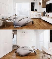 chambre blanche et idee deco chambre blanche bois