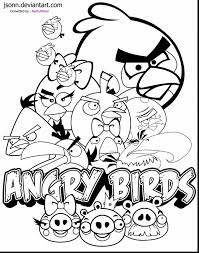Fabulous Angry Birds Coloring Pages To Print With Page And
