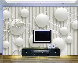 beibehang custom tapete 3d kugel geometrische tv hintergrund wand papier wohnzimmer schlafzimmer mode dekoration 3d tapete