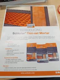 Thinset For Porcelain Tile Over Ditra by Schluter Thinset Ceramic Tile Advice Forums John Bridge