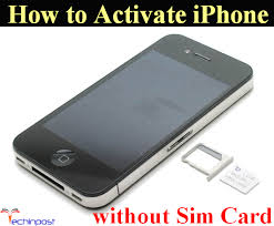 GUIDE How to Activate iPhone without Sim Card Activation Step by Step
