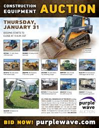 100 Types Of Construction Trucks SOLD January 31 Equipment Auction PurpleWave