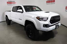 New 2018 Toyota Tacoma TRD Sport Double Cab Pickup In Escondido ... New 2018 Toyota Tacoma Trd Sport Double Cab In Elmhurst Offroad Review Gear Patrol Off Road What You Need To Know Dublin 8089 Preowned Sport 35l V6 4x4 Truck An Apocalypseproof Pickup 5 Bed Ford F150 Svt Raptor Vs Tundra Pro Carstory Blog The 2017 Is Bro We All Need Unveils Signaling Fresh For 2015 Reader