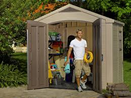 Keter Stronghold Shed Assembly by 8x6 Outdoor Garden Storage Shed Keter