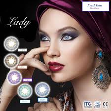 Online Sale FreshTone Colour Contact Lenses 15mm Diameter Lady Series