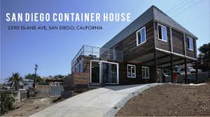 100 Shipping Containers California San Diego 670K Luxury Container Home By GBO Homes 2590 Island Ave San Diego