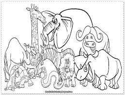 Free Farm Animal Coloring Pages For Preschoolers Awesome Zoo Animals In Books Printable Colouring