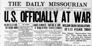 Sinking Of The Uss Maine Newspaper by 100 Years Ago Today America Enters U0027war To End All Wars U0027