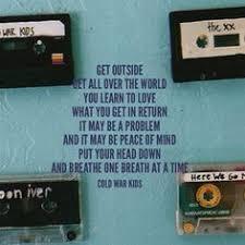cold war kids first lyrics google search true pinterest