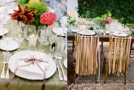 Image Of Rustic Barn Wedding Table Decorations