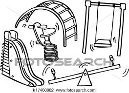 Playground Clipart Sketch3805448